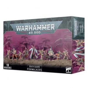 Games Workshop Warhammer 40,000  Death Guard Death Guard Poxwalkers - 99120102115 - 5011921137664