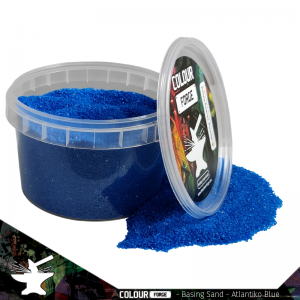 The Colour Forge   Sand & Flock Basing Sand - Atlantiko Blue (275ml) - TCF-BAS-007 - 5060843100805