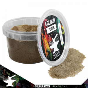 The Colour Forge   Sand & Flock Basing Sand - Fine Grit (275ml) - TCF-BAS-001 - 5060843100645