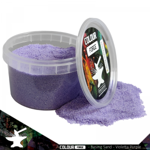 The Colour Forge   Sand & Flock Basing Sand - Violetta Purple (275ml) - TCF-BAS-005 - 5060843100782