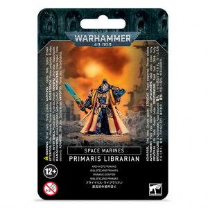 Games Workshop Warhammer 40,000  Space Marines Space Marine Primaris Librarian - 99070101063 - 5011921145997