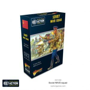 Warlord Games Bolt Action  Soviet Union (BA) Soviet NKVD squad - 402214006 -