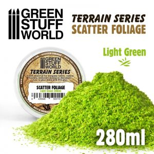Green Stuff World   Lichen & Foliage Scatter Foliage - Light Green - 280ml - 8435646500119ES - 8435646500119