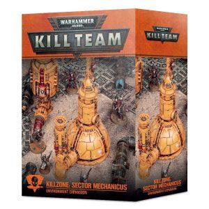 Games Workshop Warhammer 40,000 | Kill Team  Kill Team Killzone: Sector Mechanicus Environment Expansion - 99120199087 - 5011921146093