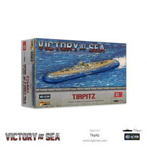 Warlord Games Victory at Sea  Victory at Sea Victory at Sea: Tirpitz - 742411011 - 5060572506923