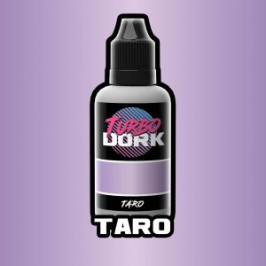 Turbo Dork   Turbo Dork Taro Metallic Acrylic Paint 20ml Bottle - TDTARMTA20 - 631145995076