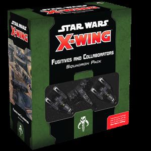 Fantasy Flight Games Star Wars: X-Wing  Scum & Villainy - X-wing Star Wars X-Wing: Fugitives and Collaborators Squadron Pack - FFGSWZ85 -