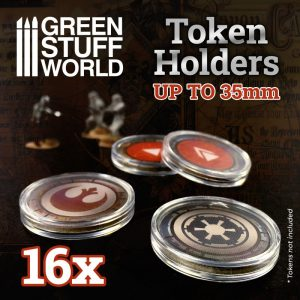 Green Stuff World   Token Sets Token Holders 35mm - 8435646500713ES - 8435646500713