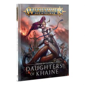 Games Workshop Age of Sigmar  Daughters of Khaine Battletome: Daughters of Khaine - 60030212008 - 9781839062285