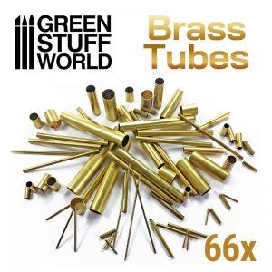 Green Stuff World   Brass Rods Brass Tubes Assortment - 8436574509144ES - 8436574509144