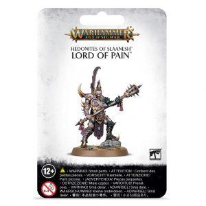 Games Workshop Age of Sigmar  Hedonites of Slaanesh Hedonites of Slaanesh Lord of Pain - 99070201026 - 5011921128167