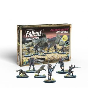 Modiphius Fallout: Wasteland Warfare  Fallout: Wasteland Warfare Fallout: Wasteland Warfare - Caeser's Legion: Veteran Wave - MUH052149 -