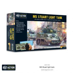 Warlord Games Bolt Action  Great Britain (BA) M5 Stuart - 402011303 -
