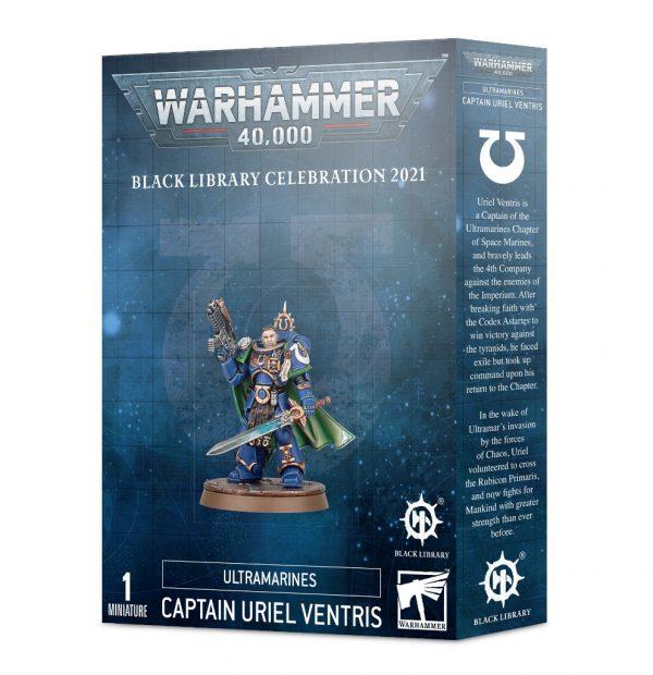 Games Workshop Warhammer 40,000  Ultramarines Ultramarines Captain Uriel Ventris - 99120101289 - 5011921138968
