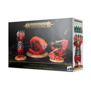 Games Workshop Age of Sigmar  Daughters of Khaine Endless Spells: Daughters of Khaine - 99120212026 - 5011921141678