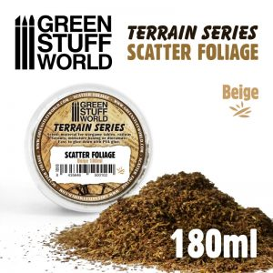 Green Stuff World   Lichen & Foliage Scatter Foliage - Beige - 180ml - 8435646500102ES - 8435646500102