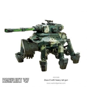 Games Workshop (Direct) Konflikt '47  Germany (K47) Konflikt 47: Zeus-X with heavy rail gun - 452410408 -