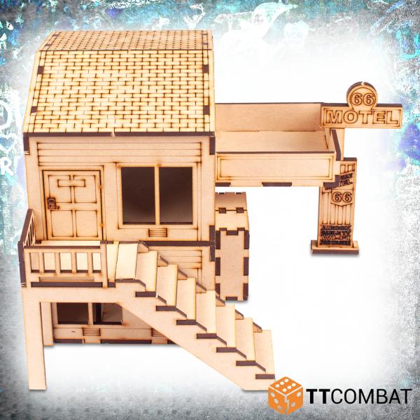 TTCombat   City Scenics (28-30mm) Motel 66 Reception - TTSCW-DCS-087 - 5060880910214