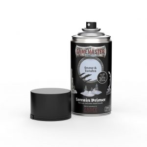 The Army Painter   Spray Paint GM: Terrain Primer - Snow & Tundra - AP-GM3004 -