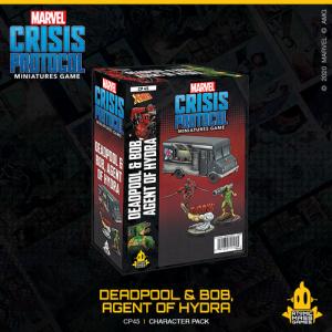 Atomic Mass Marvel Crisis Protocol  Marvel: Crisis Protocol Marvel Crisis Protocol: Deadpool & Bob, Agent of Hyrdra - CP45 -