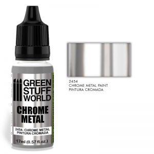 Green Stuff World   Specialist Paints Chrome Paint - 8436574508130ES - 8436574508130