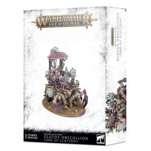Games Workshop Age of Sigmar  Hedonites of Slaanesh Glutos Orscollion, Lord of Gluttony - 99120201105 - 5011921128136