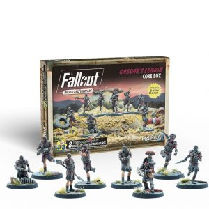Modiphius Fallout: Wasteland Warfare  Fallout: Wasteland Warfare Fallout: Wasteland Warfare - Caeser's Legion: Core Box - MUH052148 -