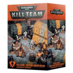 Games Workshop Warhammer 40,000 | Kill Team  40k Terrain Killzone: Sector Munitorum Environment Expansion - 99120199086 - 5011921146086