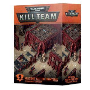 Games Workshop Warhammer 40,000 | Kill Team  40k Terrain Killzone: Sector Fronteris Environment Expansion - 99120199088 - 5011921146109