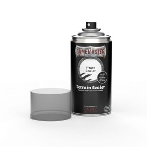 The Army Painter   Spray Paint GM: Terrain Sealer - Matt Sealer - AP-GM3006 -