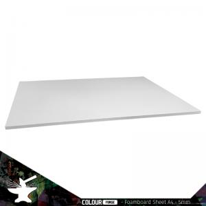 The Colour Forge   Foamboard Foamboard Sheet A4 - 5mm - TCF-FOA-001 - 5060843100904