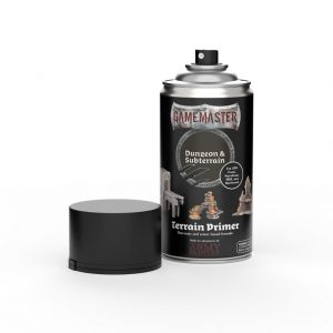 The Army Painter   Spray Paint GM: Terrain Primer - Dungeon & Subterrain - AP-GM3001 -