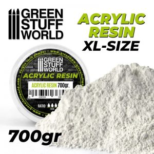 Green Stuff World   Resin Acrylic Resin 700gr - 8436554368464ES - 8436554368464