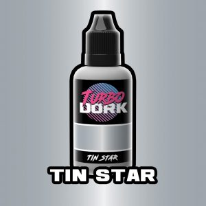 Turbo Dork   Turbo Dork Tin Star Metallic Acrylic Paint 20ml Bottle - TDTISMTA20 - 631145995007