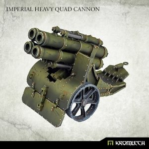 Kromlech   Imperial Guard Model Kits Imperial Heavy Quad Cannon (1) - KRM160 - 5908291071196