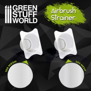 Green Stuff World   Airbrushes & Accessories Airbrush Cup Strainers x2 - 8436574509199ES - 8436574509199