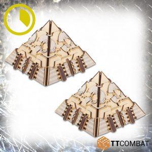 TTCombat   Sci Fi Gothic (28-32mm) Cyber Pyramids - TTSCW-SFG-105 - 5060880910429