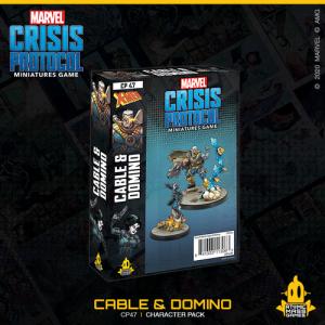 Atomic Mass Marvel Crisis Protocol  Marvel: Crisis Protocol Marvel Crisis Protocol: Cable & Domino - CP47 -