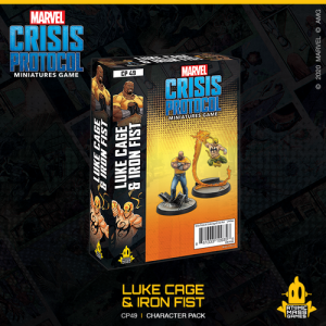 Atomic Mass Marvel Crisis Protocol  Marvel: Crisis Protocol Marvel Crisis Protocol: Luke Cage & Iron Fist - CP49 -