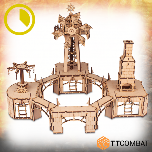 TTCombat   Savage Domain (28-32mm) Savage Domain: Mainspring Mill - TTSCW-FSC-039 - 5060880910320