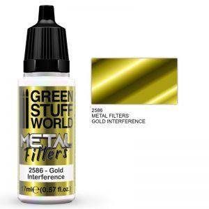 Green Stuff World   Metal Filters Metal Filters - Gold Interference - 8436574509458ES - 8436574509458