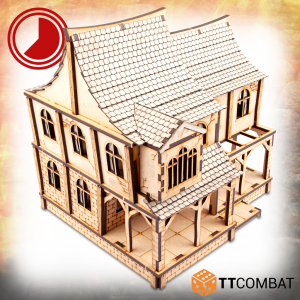TTCombat   Fantasy Scenics (28-32mm) Agatha's Stone Moon Tavern - TTSCW-FSC-011 - 5060570136641