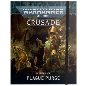 Games Workshop Warhammer 40,000  Warhammer 40000 Essentials Crusade Mission Pack: Plague Purge - 60040199128 - 9781839061820