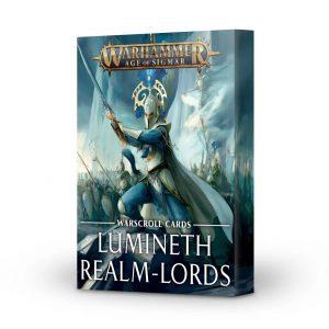 Games Workshop Age of Sigmar  Lumineth Realm-lords Warscroll Cards: Lumineth Realm-lords - 60050210002 - 5011921144273