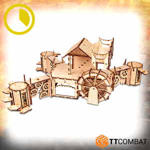 TTCombat   Savage Domain (28-32mm) Savage Domain: Locking Water Wheel - TTSCW-FSC-037 - 5060880910306