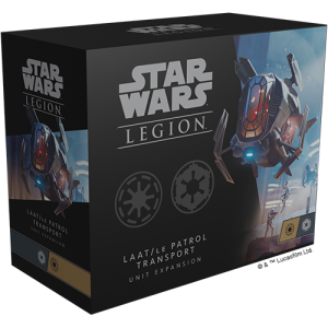 Fantasy Flight Games Star Wars: Legion  The Galactic Republic - Legion Star Wars Legion: LAAT/IE Patrol Transport Unit Expansion - FFGSWL81 -