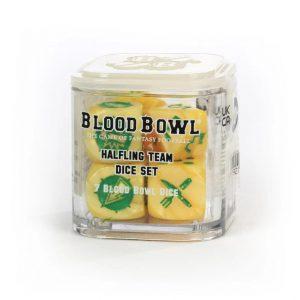Games Workshop (Direct) Blood Bowl  Blood Bowl Blood Bowl: Halfling Team Dice Set - 99220999020 - 5011921155446