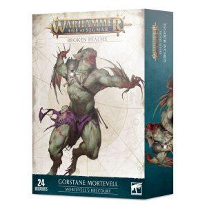 Games Workshop Age of Sigmar  Broken Realms Broken Realms: Gorstane Mortevell – Mortevell's Helcourt - 99120207106 - 5011921145621