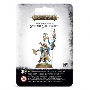 Games Workshop Age of Sigmar  Lumineth Realm-lords Lumineth Realm-lords Scinari Calligrave - 99070210002 - 5011921987986
