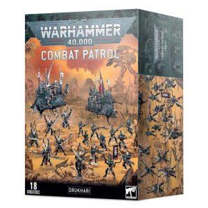 Games Workshop Warhammer 40,000  Drukhari Combat Patrol: Drukhari - 99120112043 - 5011921139217